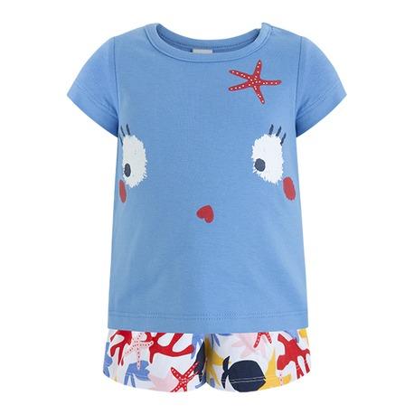 7d33f83ef TUC TUC Camiseta+falda pantalon punto niña ARRECIFE DE CORAL ...